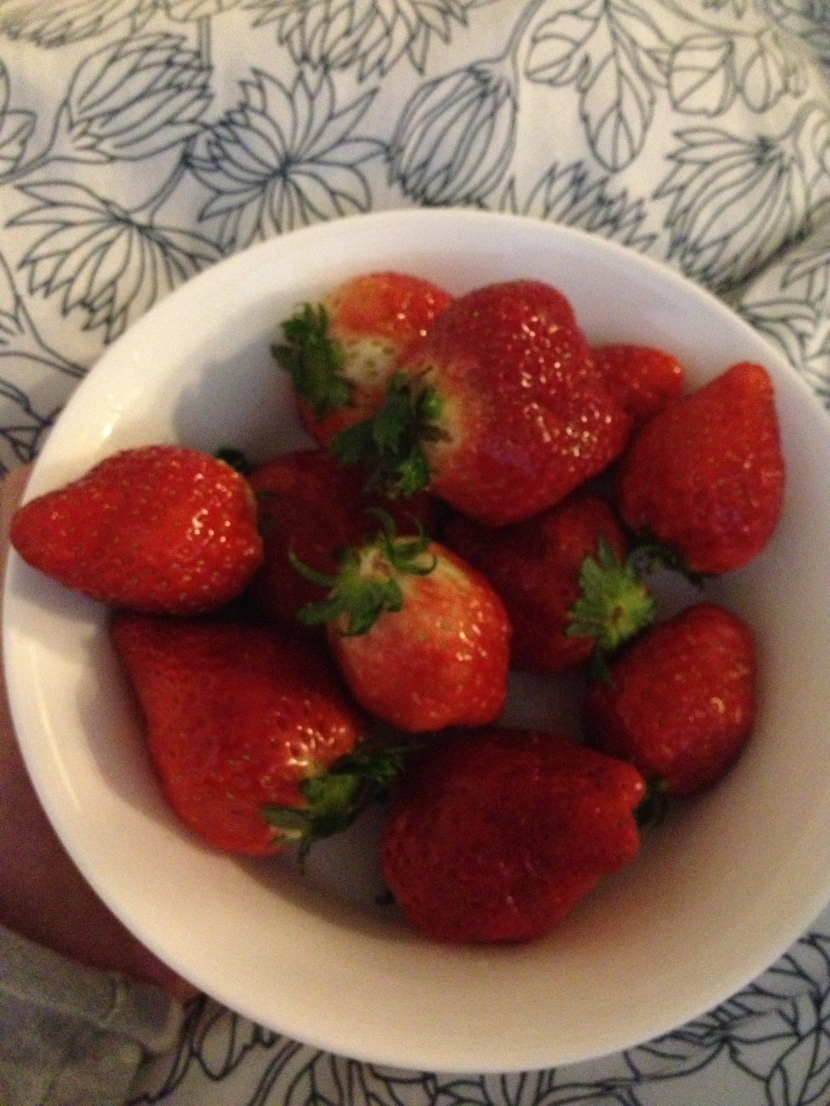guilt-free strawberries